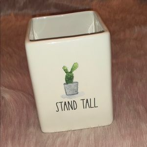 🌵 Rae Dunn STAND TALL Cactus Container